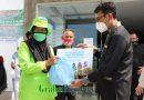 500 Paket Sembako Dibagikan Kepada Pasukan Hijau