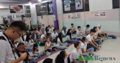 Gharhavie Management Buka Acara Potensial of Milenial Di Sanggar Senam Amey Gancell