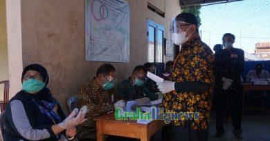 Pilkades Serentak di Kabupaten Garut Berjalan Lancar dan Terapkan Prokes Ketat