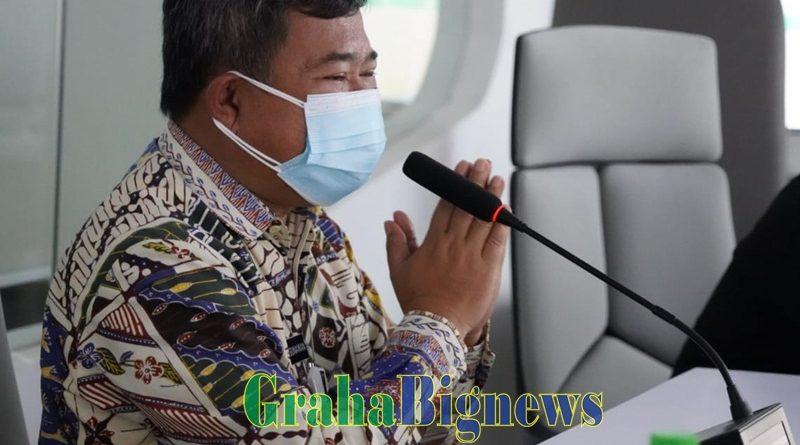 Rudy Gunawan Hadiri Launching Program Garut Humanity Care Line Secara Virtual