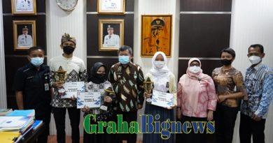 Kabupaten Garut Raih 3 Penghargaan Dalam Lomba Lagu Pop Sunda tingkat Jawa Barat Tahun 2021