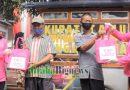 Jajaran Polres Sumedang Polda Jabar Borong Dagangan Pedagang Kaki Lima