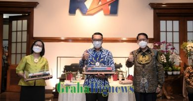 Gandeng KAI, Ridwan Kamil Ingin Kereta Api sampai ke Selatan Jabar