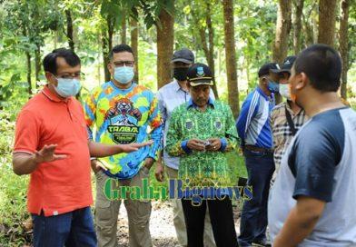 Wabup Garut Tinjau Pembangunan Jalan di Desa Garonggong
