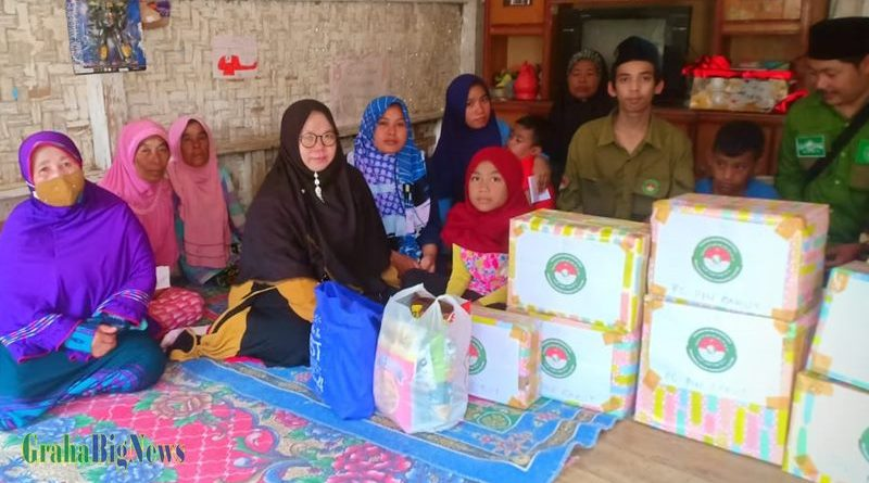 PC PIN Garut Bantu Keluarga Korban Meninggal di Septic Tank