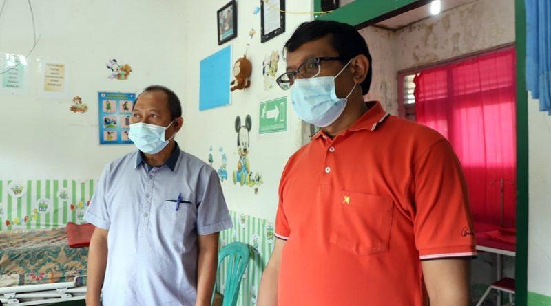 Wabup Garut Tinjau Pustu di Desa Bojong Kidul